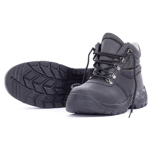Bison Duty Lace-up Safety Boot - Anti slip PU sole (BISON01)
